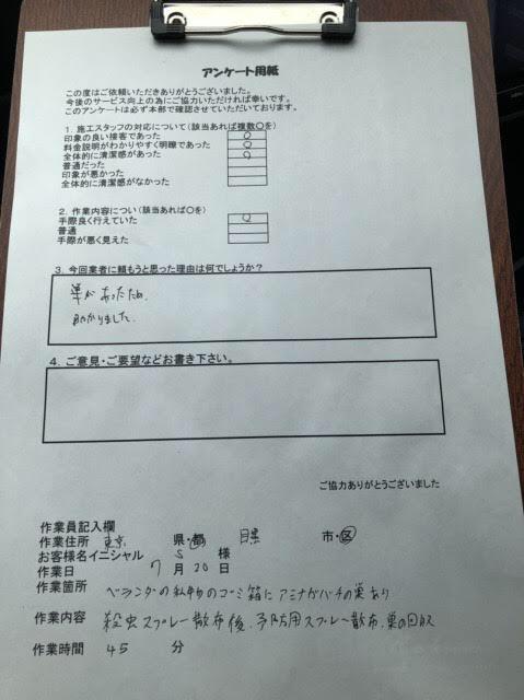 東京都目黒区 アシナガバチ ハチ王